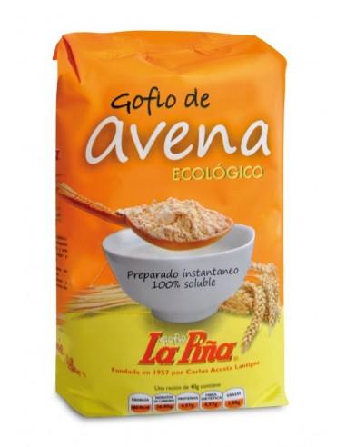 Gofio de avena Bio 450g La Piña