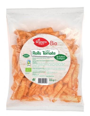 Nachos roll tomate Bio 125g El Granero