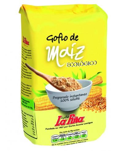 Gofio de maíz Bio 500g La Piña
