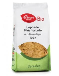 Copos de maíz tostados Bio...