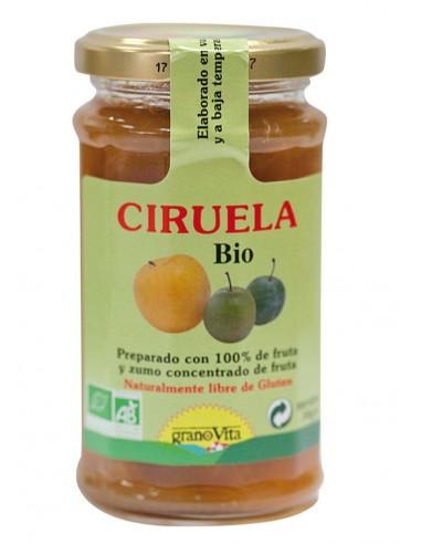 Mermelada de ciruelas Bio 240g Granovita