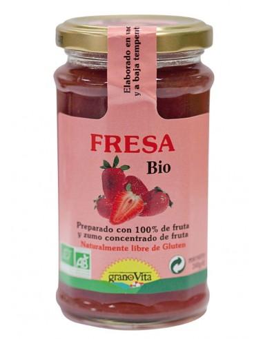 Mermelada de fresa Bio 240g Granovita