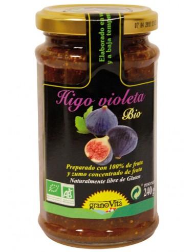Mermelada de higo violeta Bio 240g...