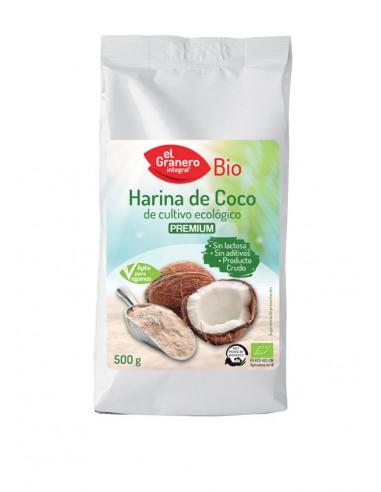 Harina de coco Bio 500g El Granero