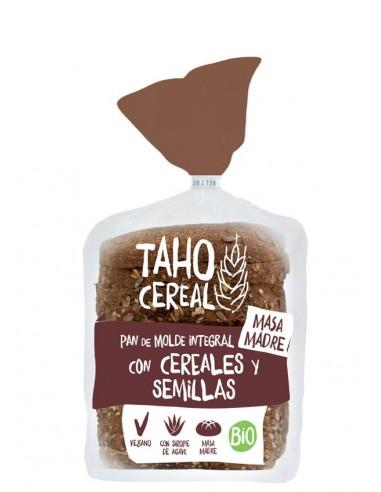 Pan de molde de cereales y semillas...