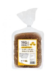 Pan de molde con maíz...