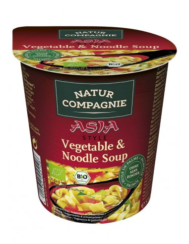 Vaso Asia pasta y verduras Bio 55g...