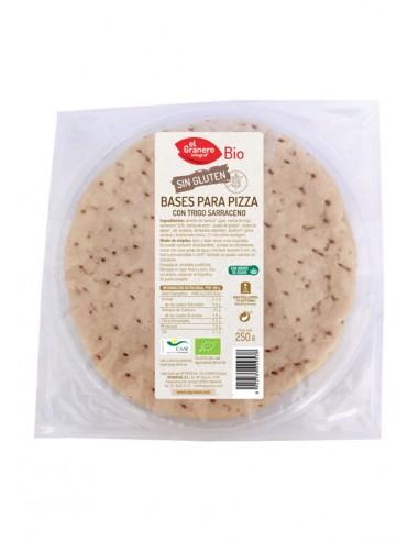 Base pizza de trigo sarraceno sin...