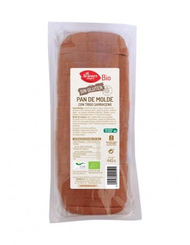 Pan de molde con trigo sarraceno sin...