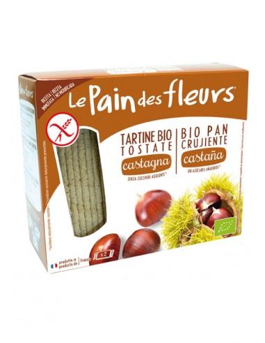 Pan crujiente con castaña sin gluten...