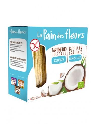 Pan crujiente con coco sin gluten Bio...