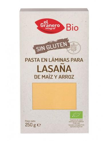 Laminas lasaña sin gluten Bio 250g El...