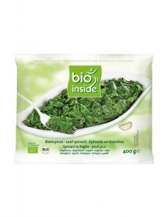 Espinacas en hoja Bio 400g...