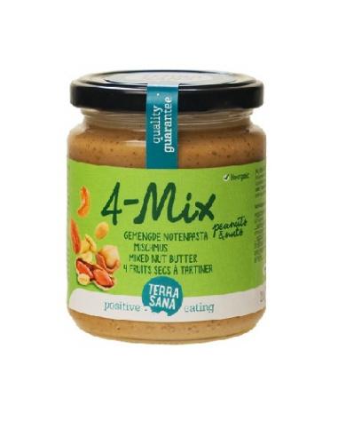 4-mix crema de frutos secos Bio 250g...