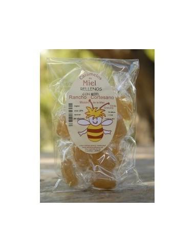 Caramelos rellenos con miel 100g...
