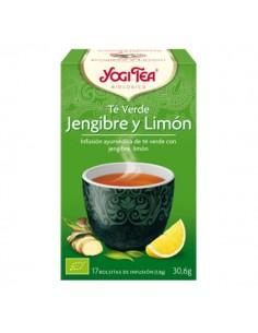 Yogi Tea Té verde, jengibre...