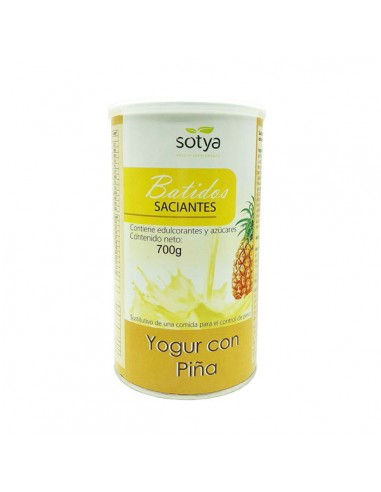 Batido saciante yogur y piña 700g Sotya