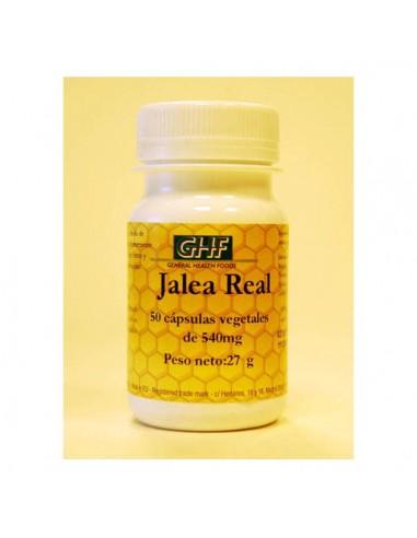Jalea real 540mg 50caps GHF