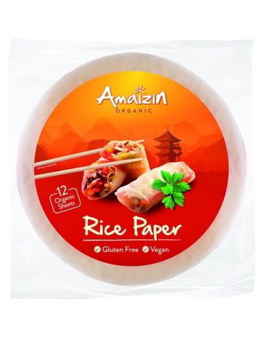 Hojas de arroz para cocina asiática...