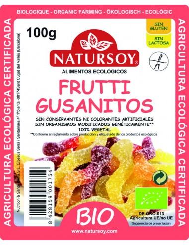 Frutti gusanitos Bio 100g Natursoy