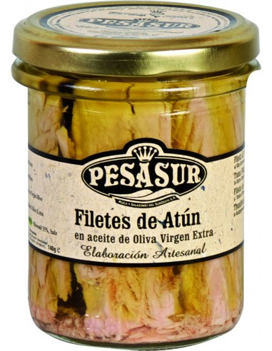 Filetes de atún fresco en aceite de...