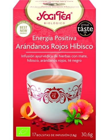 Yogi Tea energía positiva arándanos...