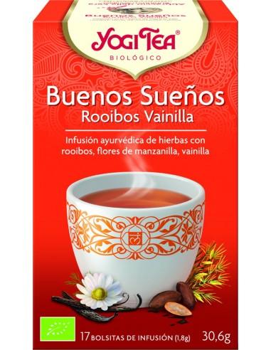 Yogi Tea Buenos sueños rooibos...