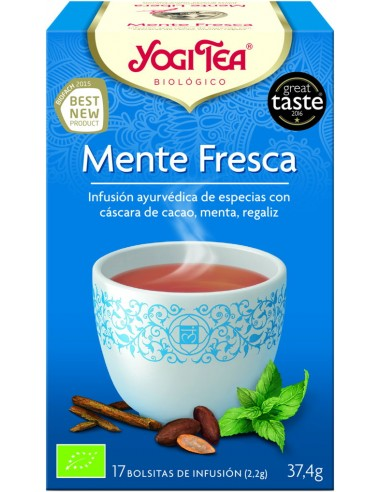 Yogi Tea Menta Fresca 17 bolsitas