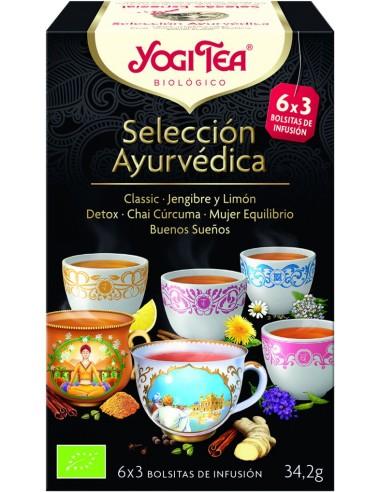 Yogi Tea selección ayurvédica 3x6...