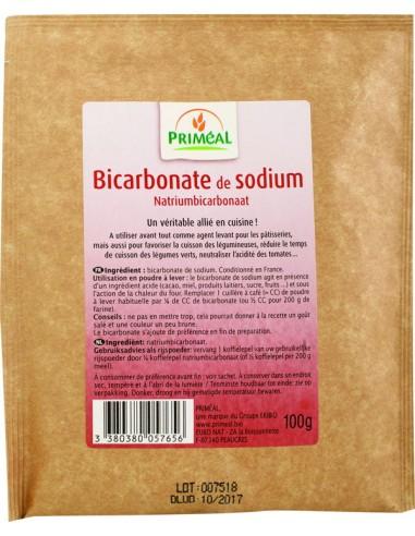 Bicarbonato de sodio 100g Primeal