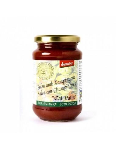 Salsa de tomates y champiñones Bio...