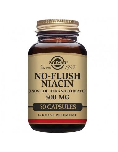 No-Flush niacin 500mg 50caps Solgar