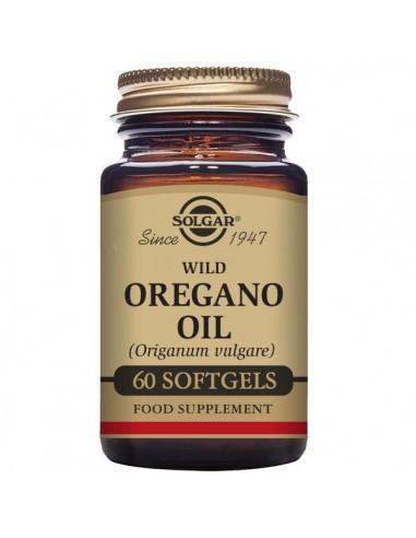 Aceite de orégano silvestre 60caps...