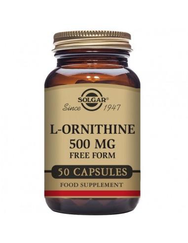 L-Ornitina 500mg 50caps Solgar