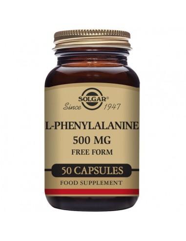 L-Phenylalanine 500mg 50caps Solgar