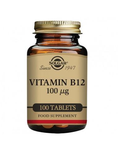 Vitamina B12 100mcg 100comp Solgar