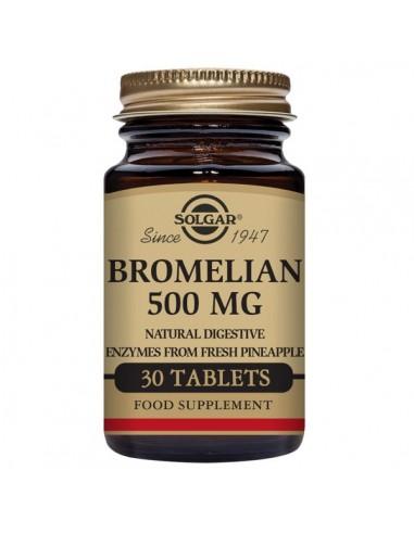 Bromelina 500mg 30comp Solgar