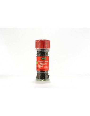 Pimienta negra molinillo Bio 40g Artemis