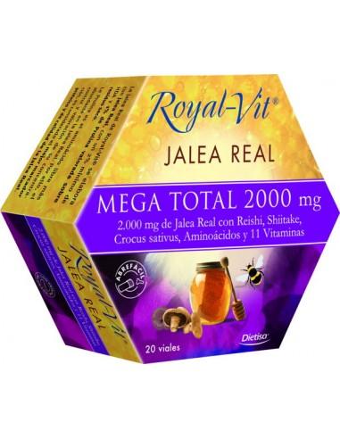 Jalea real  Mega Total 20 viales Dietisa