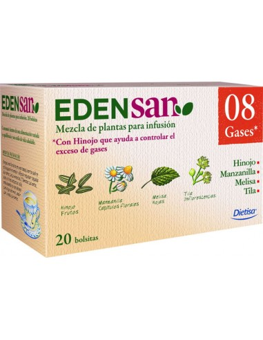 Edensan Beb 08 20 filtros Dietisa