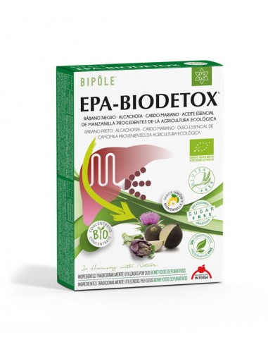 Biopole Epa-Biodetox 20 ampollas Intersa