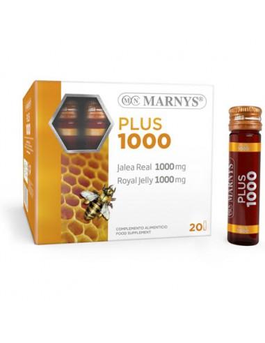 Jalea real 1000 Plus 20 viales Marnys