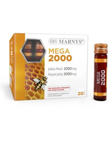 Jalea Real Mega 2000mg 20 viales Marnys