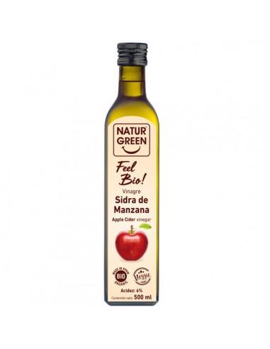 Vinagre de sidra de manzana Bio 500ml...