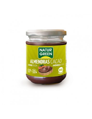 Crema de cacao y almendras Bio 200g...