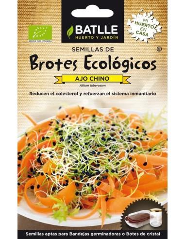 Brotes de ajo chino Bio 6g Batlle