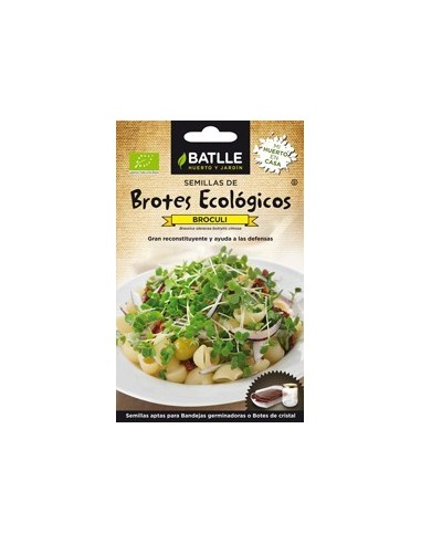 Brotes de brócoli Bio 6g Batlle