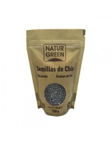 Semillas de chía Bio 250g Naturgreen