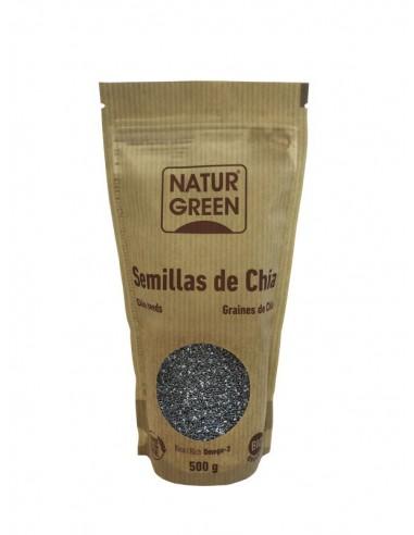 Semillas de chía Bio 500g Naturgreen