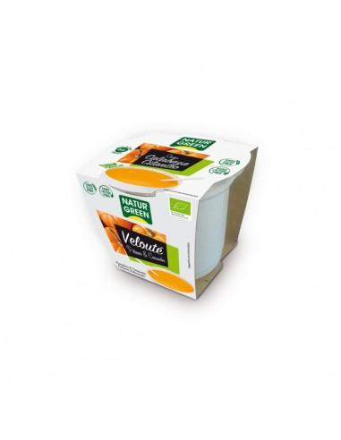 Crema de calabaza y cilantro Bio 310g...